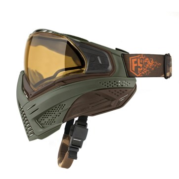 First Strike/Push Paintball Olive/Brown Mask
