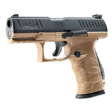 Umarex Walther PPQ M2 T4E Tan Pistol