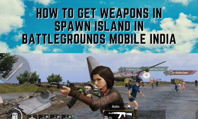 How to Get/Change Weapons in Spawn Island in Battlegrounds Mobile India
