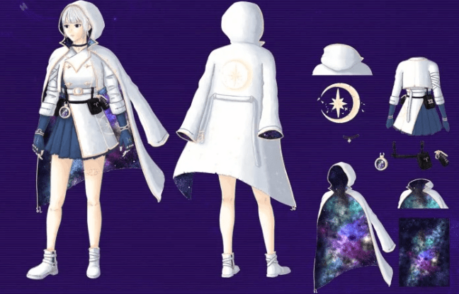 Galaxy Messenger Set