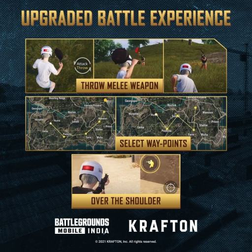 upgraded battle experience
