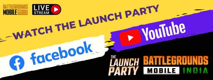 Battlegrounds Mobile India: The Launch Party Live