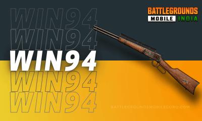 BGMI Win94 Weapon