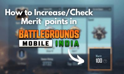 How to Increase Merit in BGMI