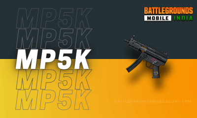 BGMI MP5K Weapon