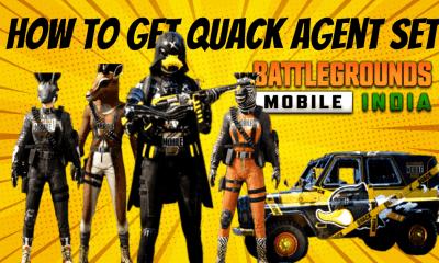 How to Get Quack Agent Set in BGMI