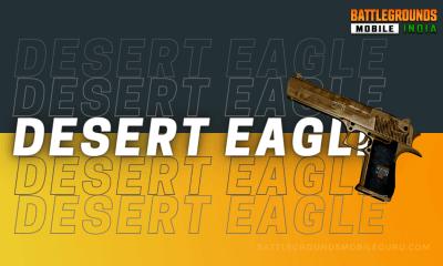 BGMI Desert Eagle Weapon