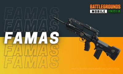 BGMI FAMAS Weapon