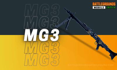 BGMI MG3 Weapon