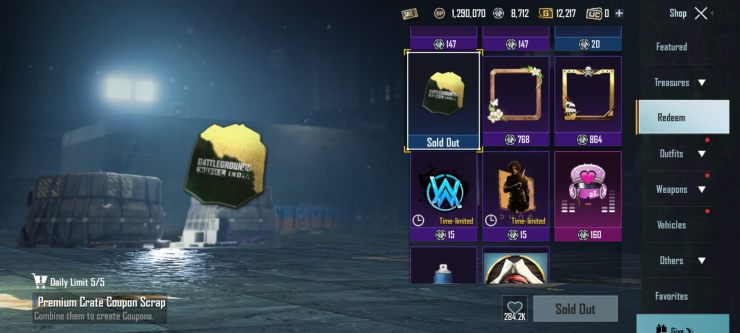 How to Get Premium Crate Coupons in BGMI