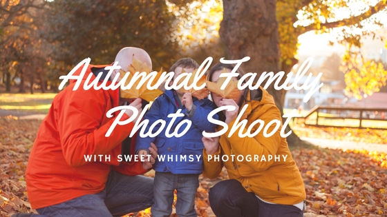 autumnal family photo shoot