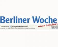 BERLINER WOCHE Das neue Wandbild wird eingeweiht.  28.11.2013