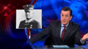 """The Colbert Report"" screenshot"