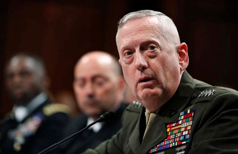 Gen. James Mattis, the presumed next commander of U.S. CENTCOM.