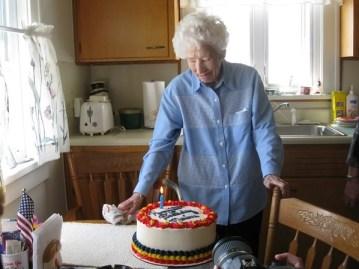 Mary Cochrane cake