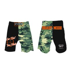 Beast Mode Fight Shorts by Battle Tek Athletics Are Perfect For Training, MMA And Grappling Sports