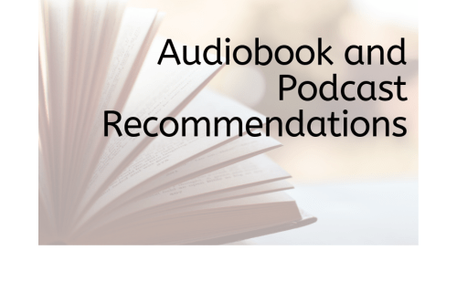 Audiobooks and Podcast Recommendations