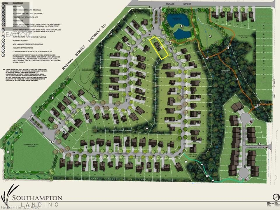 LOT 62 MARSHALL Place, saugeen shores, Ontario