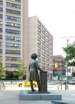 Frederick Douglass surveying his boulevard