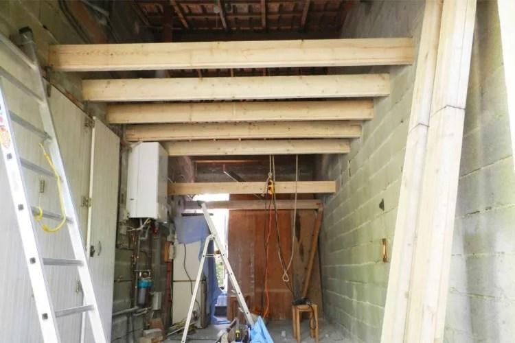 aménagement de combles au dessus d'un garage