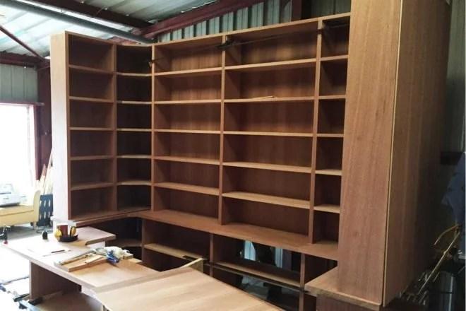 meuble en bois sur mesure artisan 91