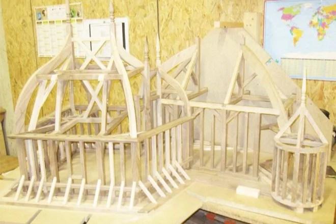 Fabrication d'une maquette en bois