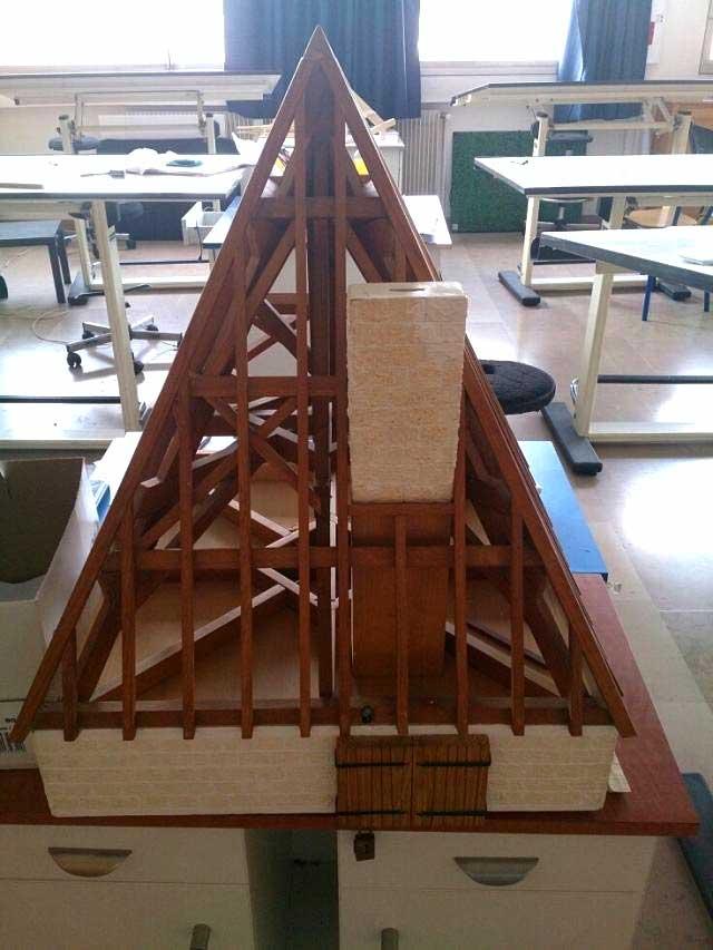 Modélisme maquette en bois sur mesure