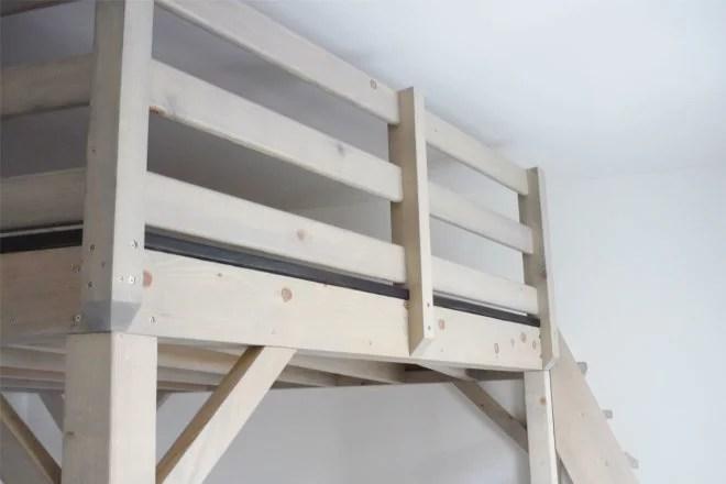 Mezzanine en bois sur mesure artisan 94