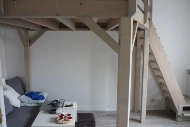 Aménagement intérieur bois artisan 94