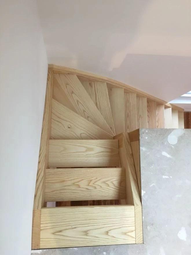 réalisations escalier 1/4 tournant haut sur mesure batyr 91