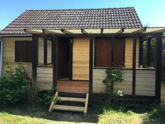 renovation aménagement exterieur maison bois