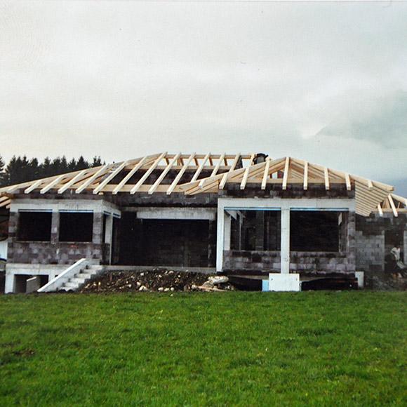 Zimmerei Josef Winner Münster: Dachstuhl für Bungalow