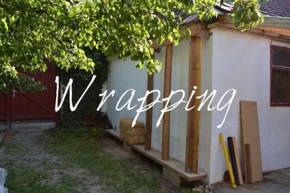 Workshop Strohbau Strohballenbau Wrapping