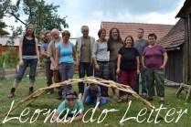 Workshop Reziprokes Dach Leonardo Leiter