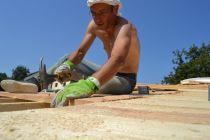 Herbert Gruber strohballengedämmtes Dach - straw bale insulated roof