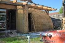Strohballen Gewölbe Straw Bale Vault