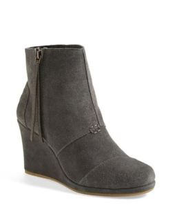 Toms Desert Wedge High Bootie