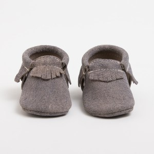 Freshly Picked | Denim on Denim Moccasins | Such a great gender neutral pair