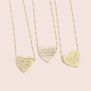 Erica Weiner Heartbeats Necklaces