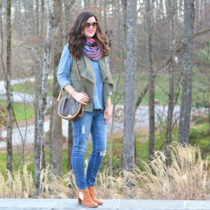 Transitioning Chambray into Winter