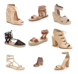 Neutral Sandals for Spring