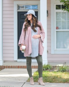 Blush and Olive Green