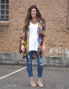 One of My Favorite Pregnancy Looks   Kimonos
