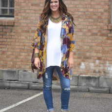One of My Favorite Pregnancy Looks | Kimonos