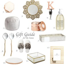 Gift Guide – For the Home