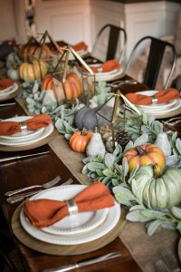 Our Thanksgiving Tablescape 2018