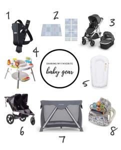 My Favorite Baby Gear Items