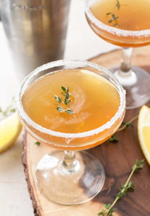 Lemon Thyme Cocktail Recipe