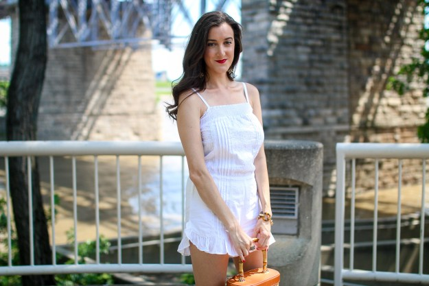 White Romper Outfit Ideas