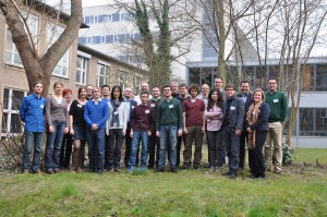 Teilnehmer des Doktoranden-Workshops GEO^5 2015.